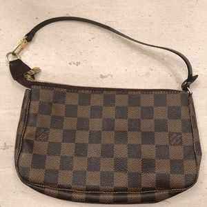 LOUIS VUITTON Shoulder Bag Clutch Wristlet